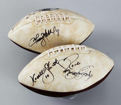 Pittsburgh Steelers Lot (2) Signed Footballs – Jerome Bettis, Tommy Maddux & ...