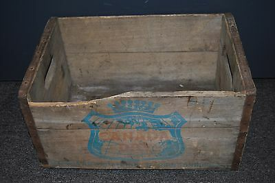 "Vintage Canada Dry Ginger Ale Wood Crate 16.5"" x 11"" x 8.5"""