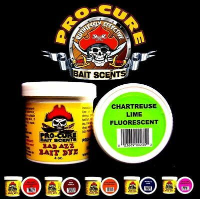 PRO CURE BAD AZZ POWDER BAIT DYE 4oz