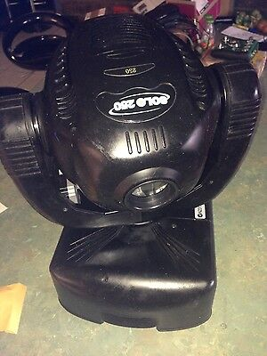 Pr Solo 250 Moving Head 8 Available And 2 Roadcases