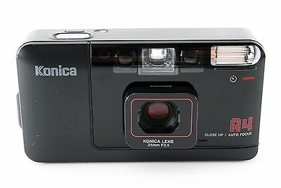 Konica Bigmini A4 Film Camera w/35mm F/3.5 Lens [Excellent+] from Japan