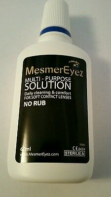 Contact Lens Solution 60ml New & Sealed Free Postage
