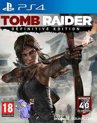 Brand NEW    Tomb Raider Definitive Edition for PS4