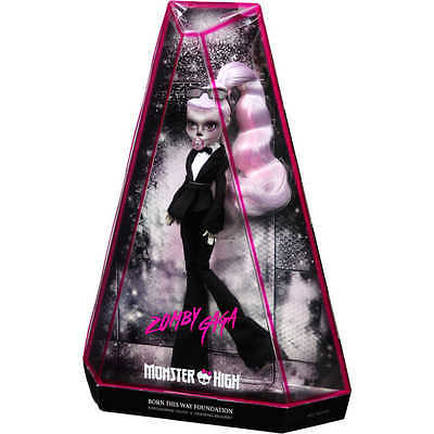 Limited Edition Lady Gaga Monster high Zomby doll BNIB SOLD OUT Zombie