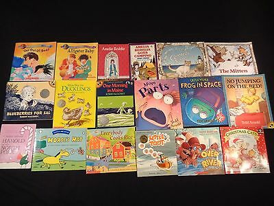 Lot of 152 Softcover Picture Books: K-2, Amelia Bedelia,
