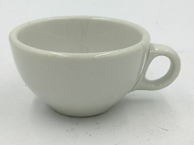 1920-50s Shenango China New Castle PA White Restaurant Ware Diner Coffee Cup DH1