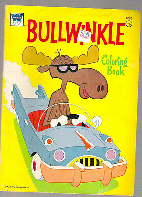 Bullwinkle Coloring Book - 1971  - BUY IT NOW!