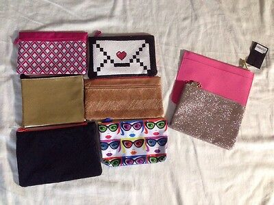 Lot Of 6 Ipsy Bags Plus One Bath And Body And One Forever 21