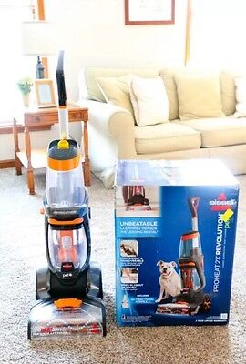 Bissell ProHeat 2x Revolution Pet CARPET CLEANER, Deep Clean UPHOLSTERY CLEANER