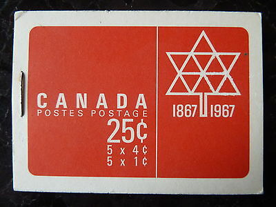 25c EXPO 67 STAMP BOOKLET canada