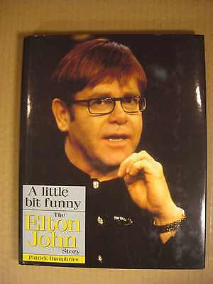 Elton John 1998 Hardback Biography By Patrick Humphries Excellent Condition