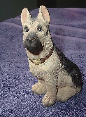 Vintage German Shepard Dog Figurine