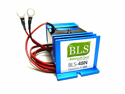 BLS-48N EX AUSTRALIA 48 volt Battery Life Saver reviver for 48 volt golf carts