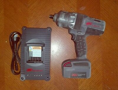 """Ingersoll Rand W7000 Series 20volt 1/2"""" impact wrench, 1 x battery and charger."""