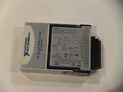 USB-9162 + NI 9211, 4 Channel Thermocouple, National Instruments