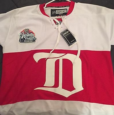 Pavel Datsyuk Detroit Red Wings Winter Classic 2009 Jersey Vintage  Size Large 48 a83b6337e