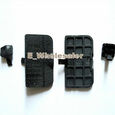 New For Nikon D90 USB-HDMI-DC-IN-VIDEO-OUT Interface Terminal Rubber Door Cover