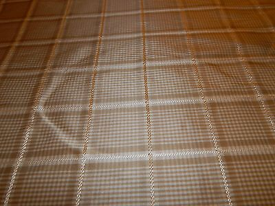 Pindler & Pindler Silk Woven Jacquard Fabric W/ Embroidered Accents 9 Yards