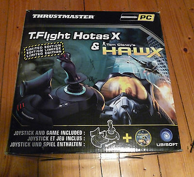 Thrustmaster T.Flight Hotas X Joystick for PC, PS3 w H.A.W.X