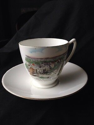 Shelley Cup And Saucer Featuring North terrace Adelaide
