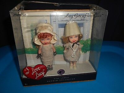 I Love Lucy Pink Label Barbie Gets A Paris Gown Episode 147 Rare