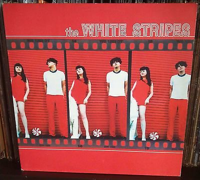 The White Stripes 1° Lp NM Uk Issue 2001 XL Recordings ‎– XLLP 149