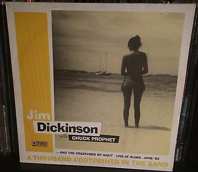 Jim Dickinson With Chuck Prophet A Thousand Footprints In The Sand Lp NM 1992
