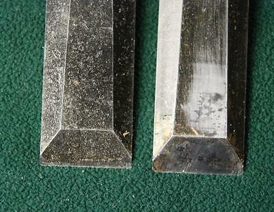 Two Vintage Stanley PROFESSIONAL Wood Chisels USA 1 Inch