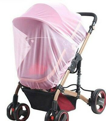 pink color Insect Cover Mosquito net for Pram/Stroller Accessory brand new