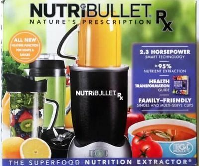 NutriBullet RX 1700w Blender/Mixer Nutrition Extractor - *Next Day Delivery*