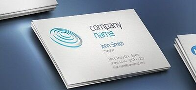 100 *Double sided* Business Cards custom printing