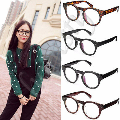Vintage Women Men Clear Eyeglass Frame Glasses Retro Spectacles Lens Eyewear Rx