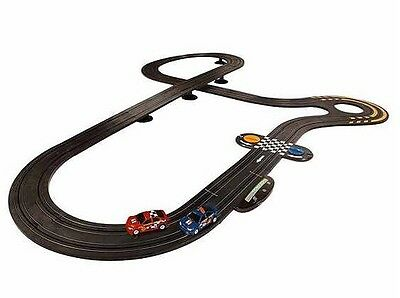 Micro Scalextric Rally Dirt Racers Racing Set Includes 2 rally cars