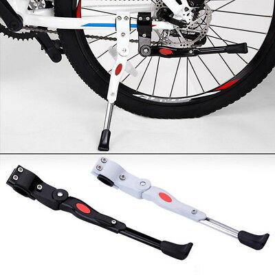 Heavy Duty Adjustable Mountain Bike Bicycle Prop Side Rear Kick Stand YY