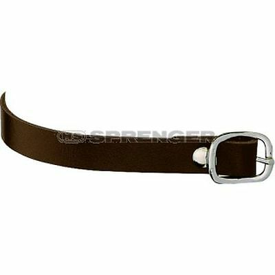 Sprenger Brown Smooth Leather Spur Straps
