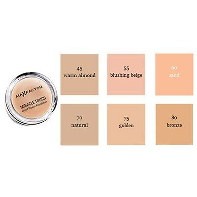 Max Factor Miracle Touch Liquid Illusion Cream Foundation - Blushing Beige 55