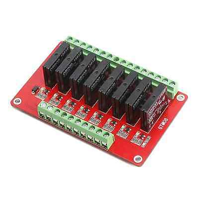DROK 8-CH Solid State Relay Module DC 5V Four Channel Expansion Board High-level