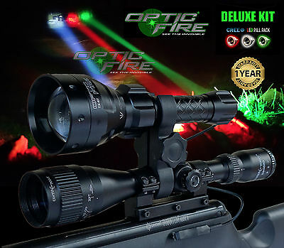 Opticfire® TX-67 T67 LED Deluxe/Supreme scope lamping kit hunting torch NV lamp