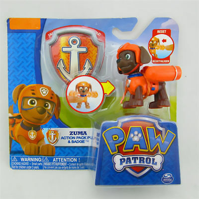 New Paw Patrol® Action Pup Series 6cm ZUMA Action Figure