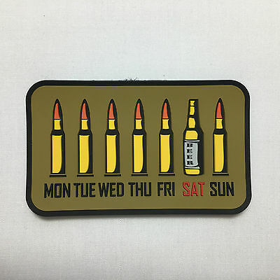 Guy's Week - Velcro Patch airsoft military milsim tactical morale badge