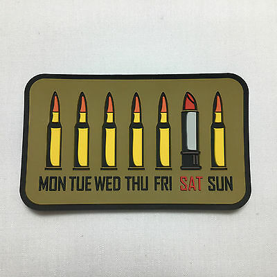 Girl's Week - Velcro Patch airsoft military milsim tactical morale badge