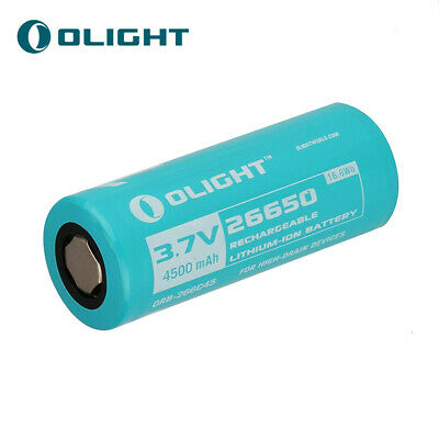 Olight 26650 4500mAh Customized Rechargeable Battery for R50/R50 PRO/R50 PRO LE