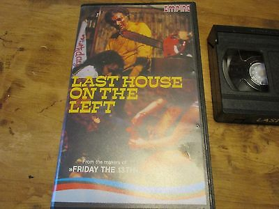 The Last House On The Left,  Video Nasty, Pre Cert, Wes Craven