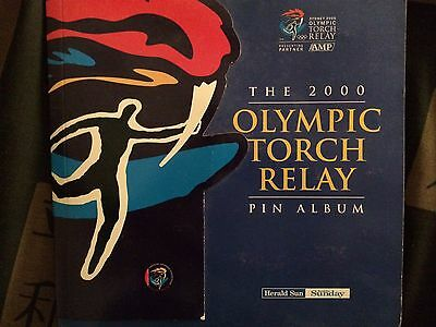 Sydney Olympics Torch Relay Complete Pin Set
