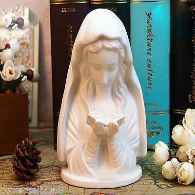 Catholic Church Christian Blessed Virgin Mary Statue Ceramic Decoration Gift