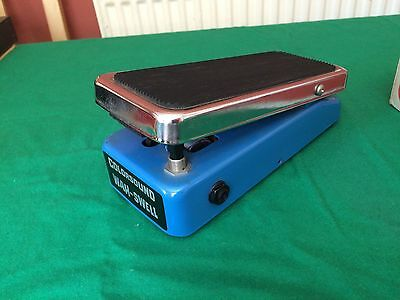 Colorsound Wah Swell (SERVICED) - WORLDWIDE SHIPPING - Vintage Wah Pedal