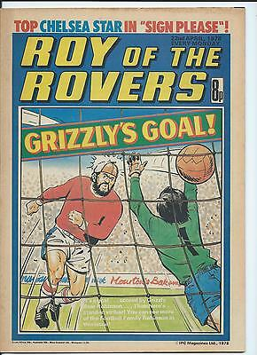 Roy of the Rovers Comic , 22nd  April 1978