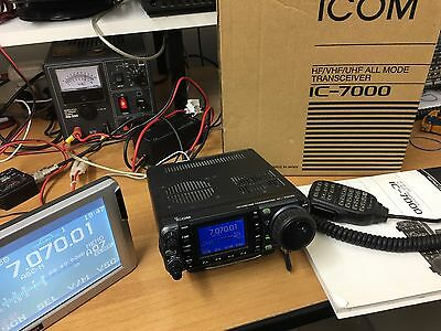 Icom Ic 7000 Quadribanda All Mode Ultime Serie Con Monitor Esterno E Imballo