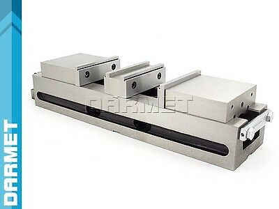 "Double-Action Milling Machine Angle Lock Vise Vice 4"" 100MM FPQD100/76 DARMET"