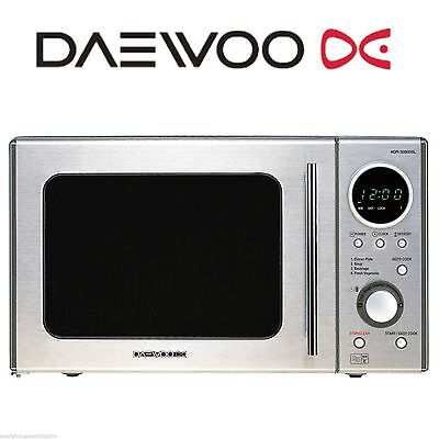 Daewoo KOR3000DSL 20L Microwave Oven - Brand New - Fast Delivery